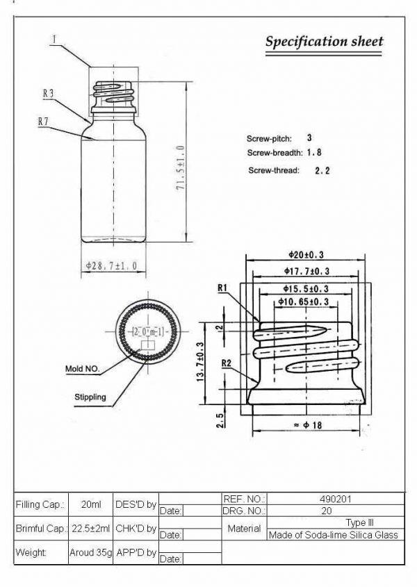 Ess-Oil-Bottle-20ml-Tech-Drawing