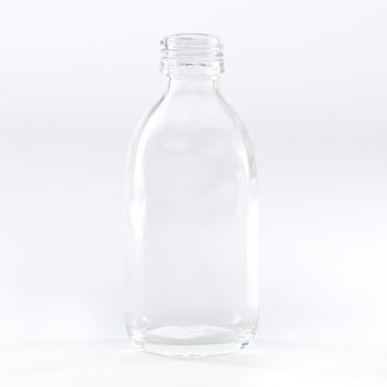 200ml clear glass bottle
