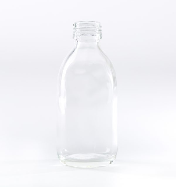 200ml clear glass bottle