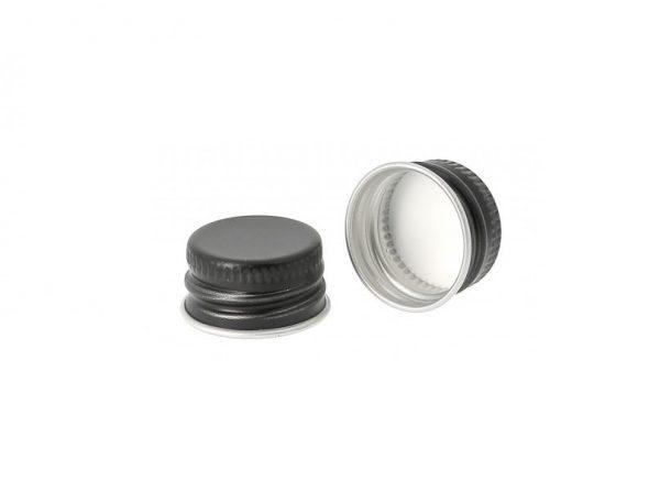 28mm Aluminium Cap BLK