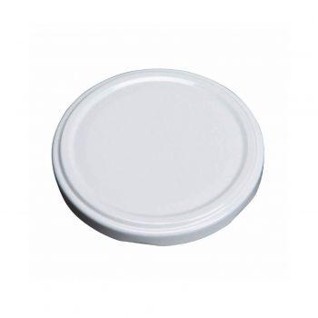 63MM WHITE RTO TWIST CAP METAL